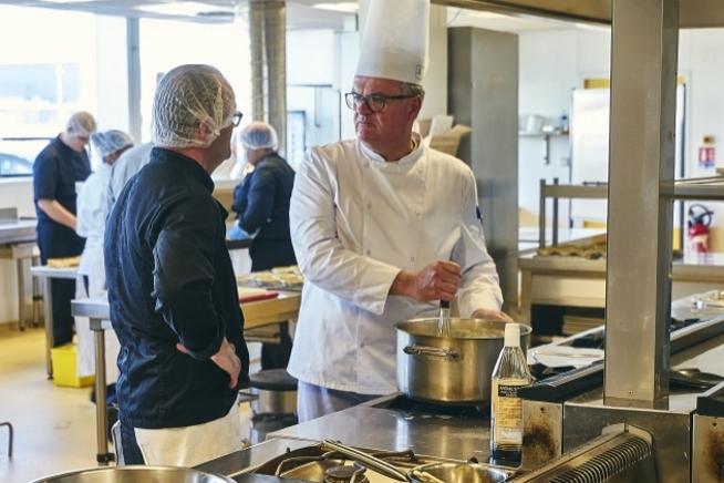 Cuisine pédagogique du CLPS à Brest