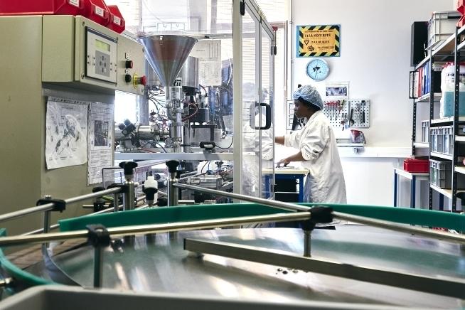 atelier industriel au centre de formation CLPS à Quimper