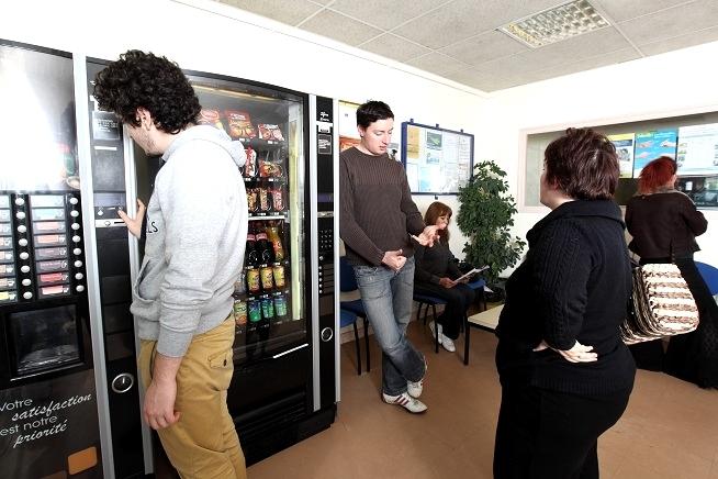 espace de pause stagiaires du centre de formation CLPS à Dinan