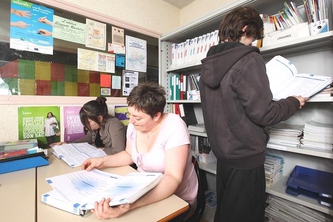 espace de ressources documentaire du centre de formation CLPS à Dinan