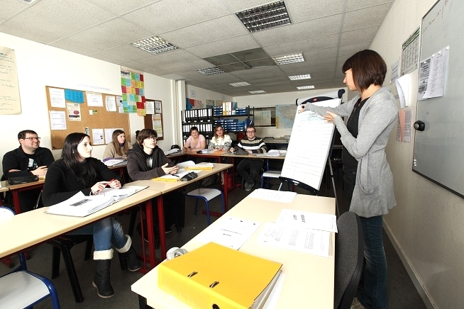 salle de formation du centre de formation CLPS à Dinan