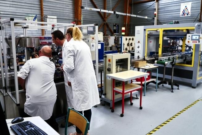 atelier industriel du centre de formation CLPS à Rennes