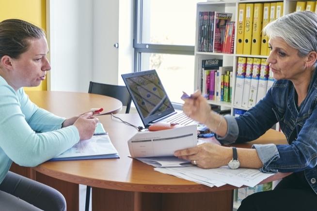 entretien en centre de ressources au centre de formation CLPS à Vannes