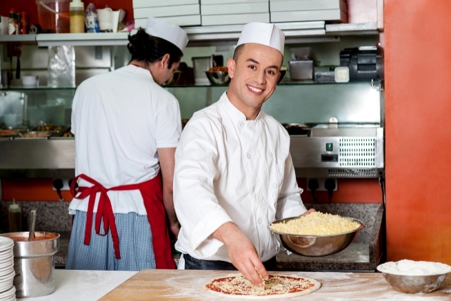 formation perfectionnement professionnel en pizza au CLPS à Brest
