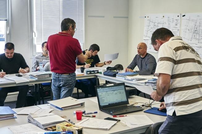 formation générale professionnelle FGP gros œuvre en Bretagne au CLPS
