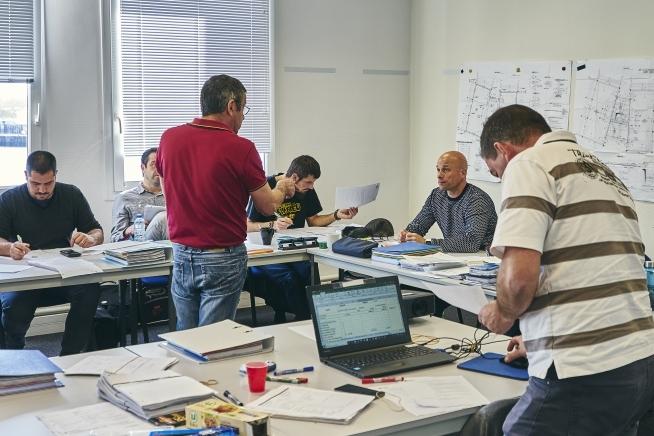 formation lecture de plans du bâtiment au CLPS à Rennes