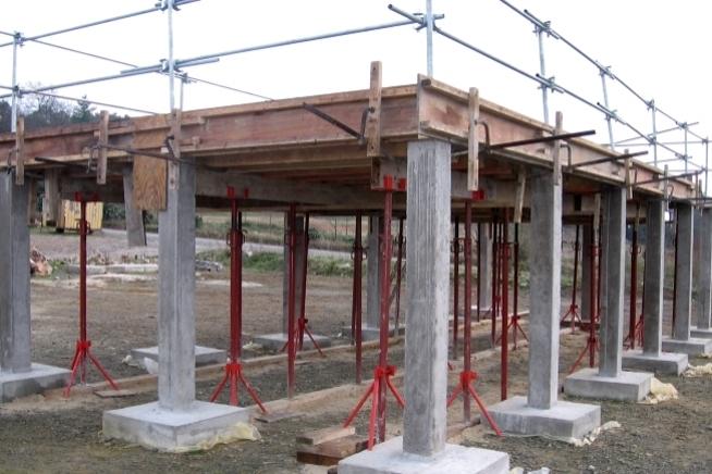 formation coffrage de massifs poteaux et poutres en Bretagne au CLPS