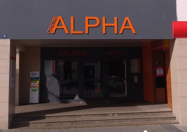 Entrée du centre Alpha - locaux du CLPS à Lanester