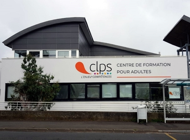 vue extérieure du centre de formation CLPS à Saint-Brieuc