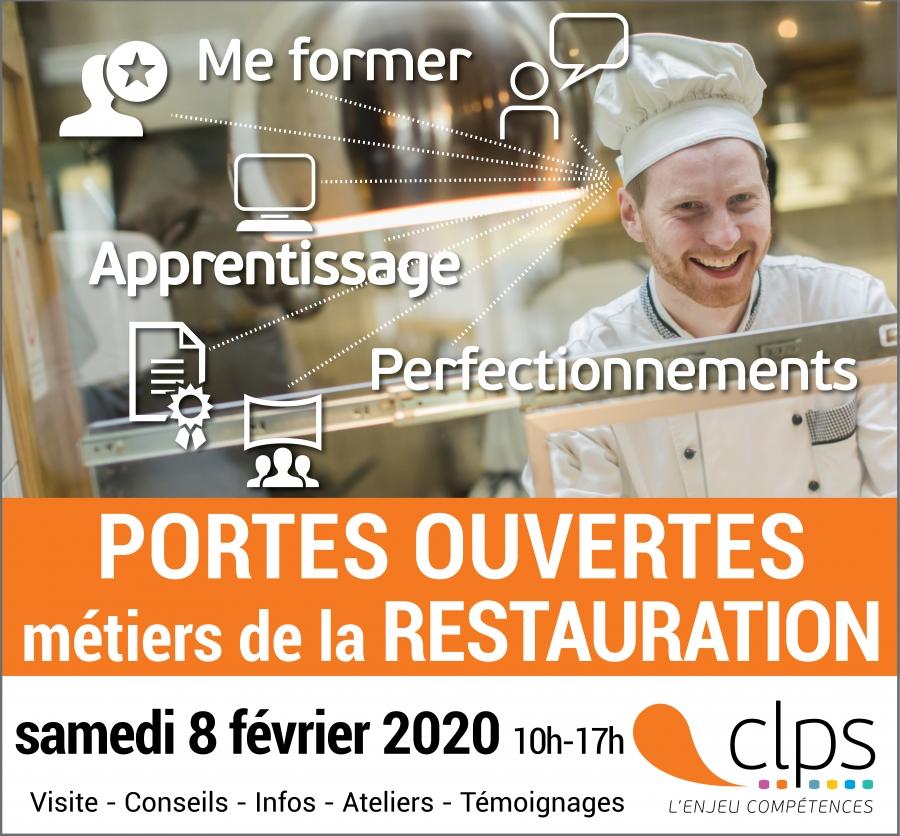 Portes ouvertes Restauration au CLPS à Brest le 8 février 2020