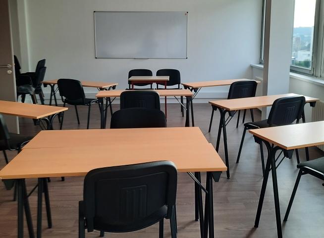 salle de formation du centre de formation CLPS à Lannion