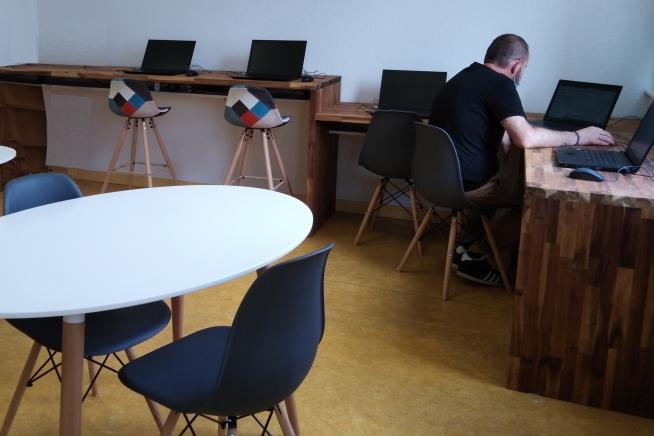 Espace de coworking CLPS à Lorient