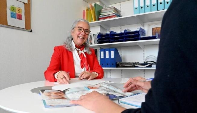 Isabelle Bleckmann, conseillère en évolution professionnelle au CLPS à Vannes