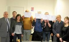 4 détenus ont reçu leurs diplômes CléA à Saint-Brieuc