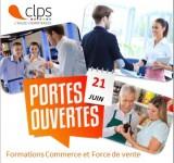 Portes ouvertes Formation Commerce et Force de vente au CLPS à Rennes jeudi 21 juin 2018