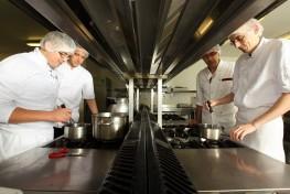 Perfectionnement professionnel en cuisine