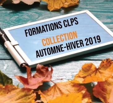 Formations diplomantes CLPS automne hiver 2019