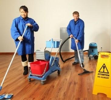 Formation propreté par le pole entreprise du CLPS
