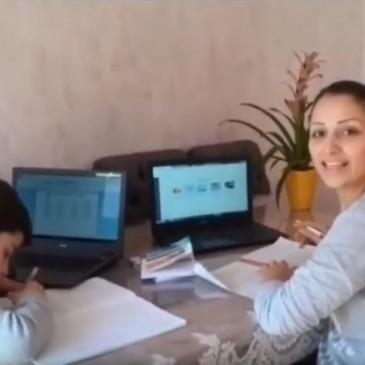 confinement : vidéo de stagiaires CLPS en formation à distance CAP accompagnant éducatif petite enfance