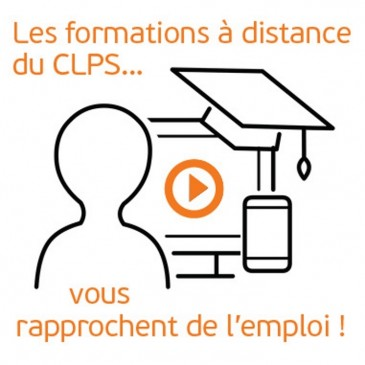 Illustration formation à distance au CLPS