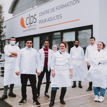 Stagiaires en formation PREPA Avenir FLE spécifique restauration au CLPS à Saint-Brieuc