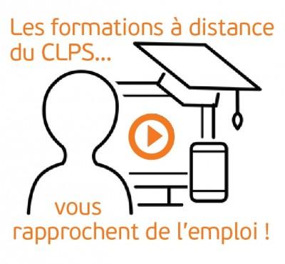 Illustration formation à distance au CLPS