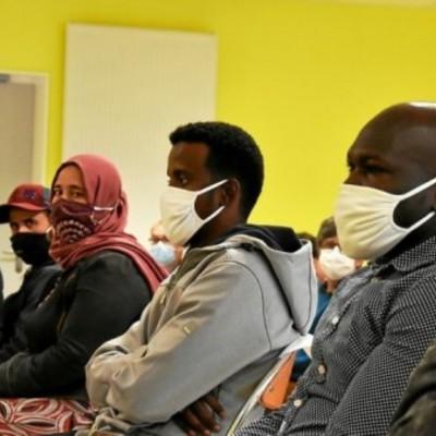 le CLPS partenaire du dispositif Guing'emplois accompagne des réfugiés.