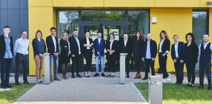 Le groupe manager d'univers marchand 2018 au CLPS à Vannes