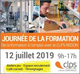 Journée de la formation au CLPS à Redon le 12/07/19