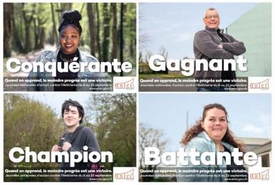 CLPS participe aux 6èmes Journées nationales d'action contre l'illettrisme