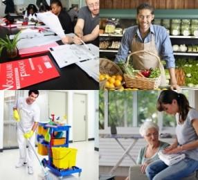 Formations commerce, propreté, compétences transverses, advf